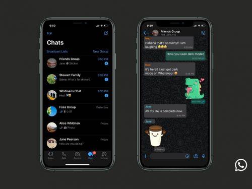 Tema scuro finalmente disponibile per iOS e Android